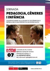 taller familias de niñes de genero fluido octubre @ Sala d'actes. Biblioteca Central de Terrassa